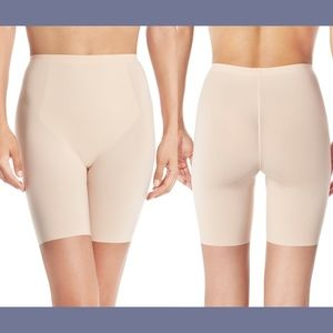NEW! Spanx Thinstincts Mid-Thigh Shaper Shorts Med